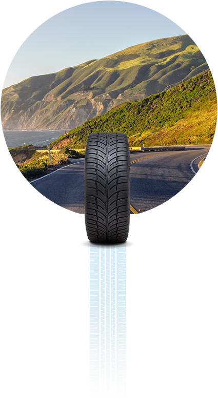 Forceum Tire on Coastal Highway